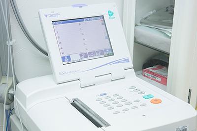 心電図・血圧脈波検査